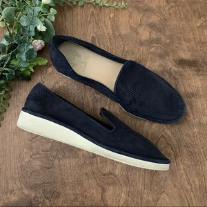 Vince Camuto 'Gwenna' Suede Perforated Loafers | 9